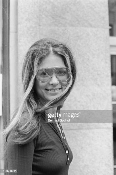 Portrait of American journalist political activist and one of the founders of the modern feminist movement Gloria Steinem 1972