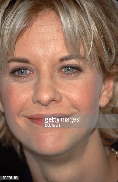 Portrait of American movie actress Meg Ryan March 1996