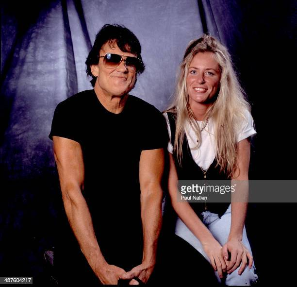 Portrait of American musician and actor Kris Kristofferson and musician Deana Carter New Orleans Louisiana March 14 1992