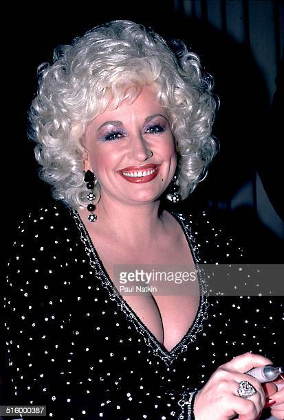 Portrait of American musician Dolly Parton at the Hyatt Hotel Chicago Illinois March 6 1984