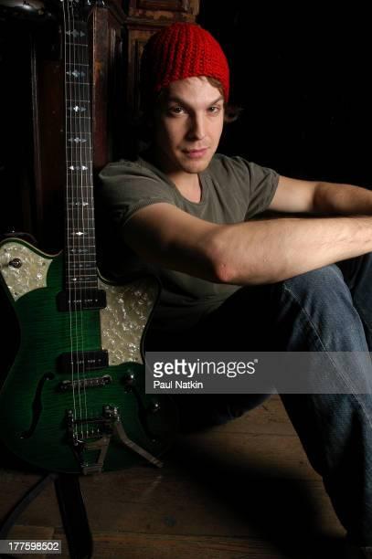 Portrait of American musician Gavin DeGraw Chicago Illinois November 6 2003
