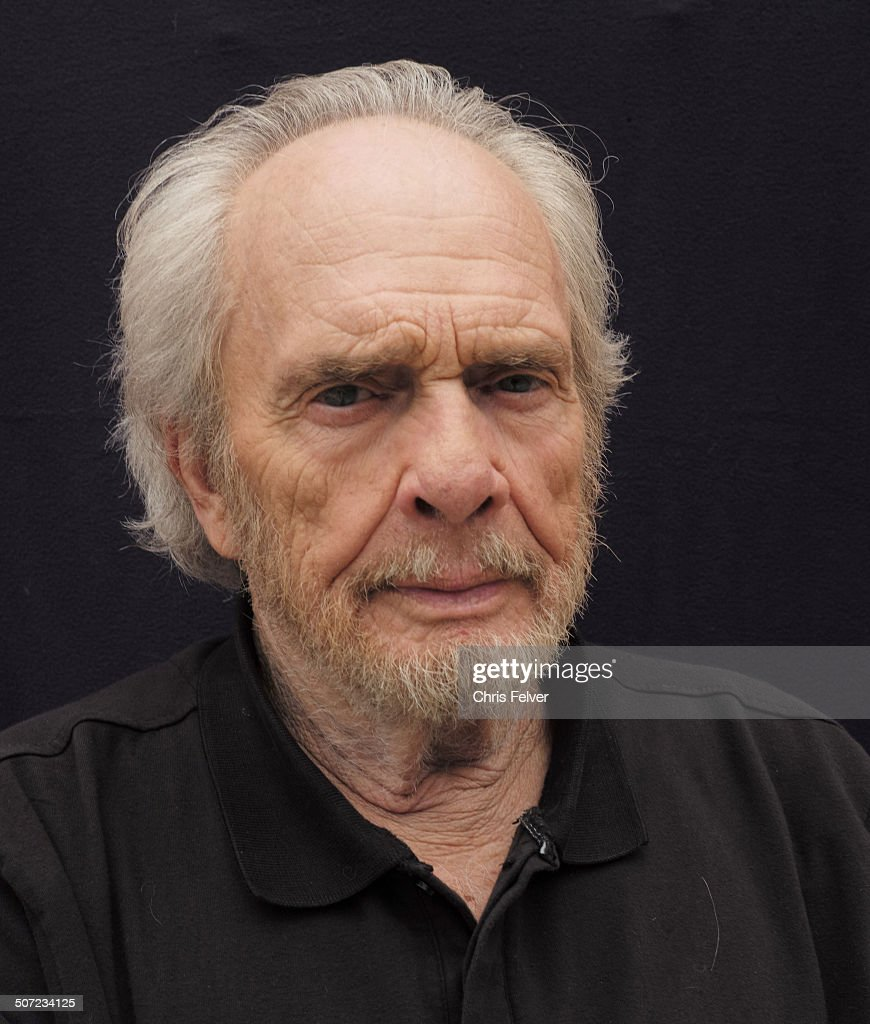 Portrait of American musician Merle Haggard, Redding, California, early to mid August, 2014.