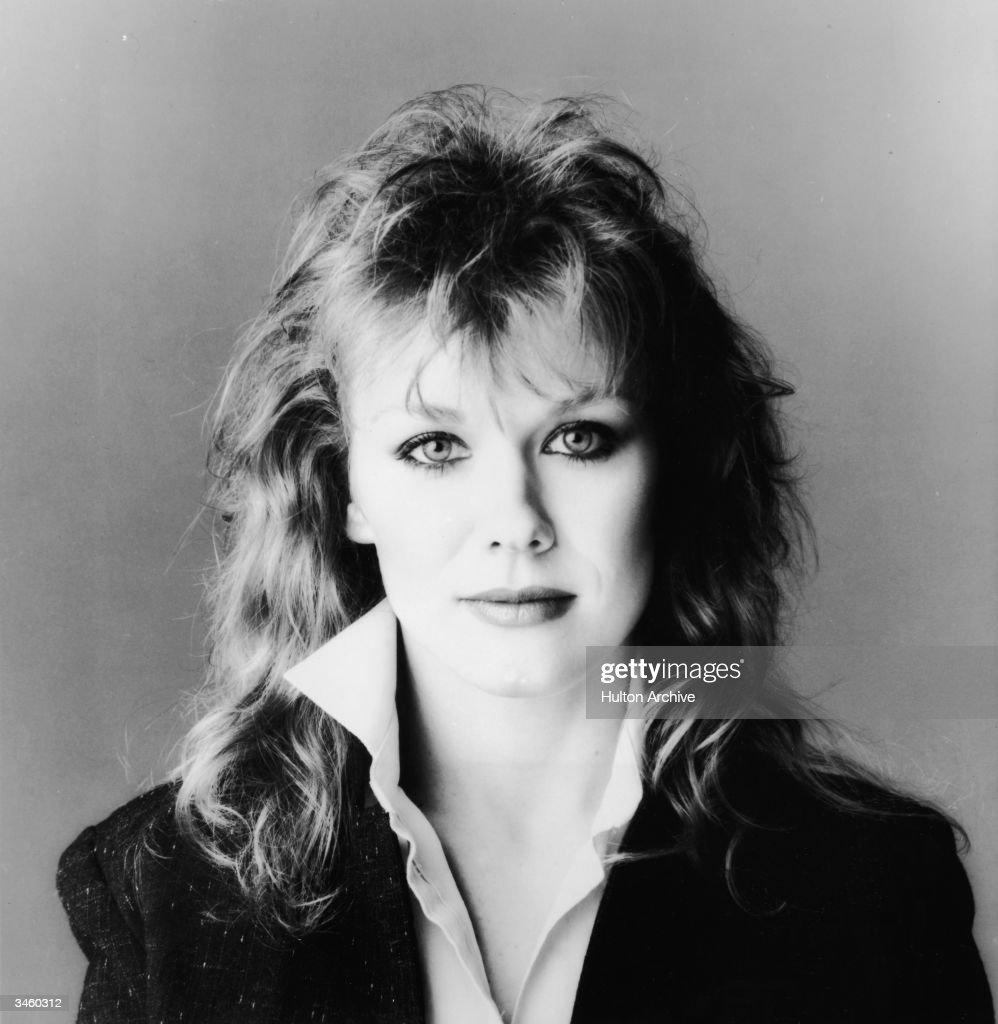 Portrait of American musician Nancy Wilson of the rock group Heart circa 1980s