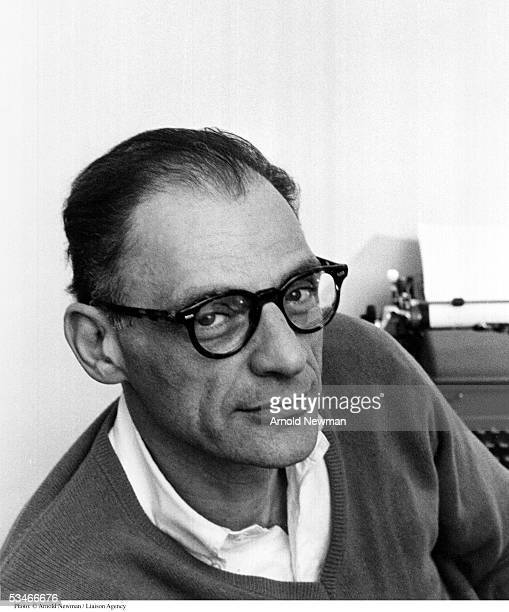 Portrait of American playwright Arthur Miller January 29 1962 in New York City Miller is best known for his masterpiece ' Death of a Salesman'