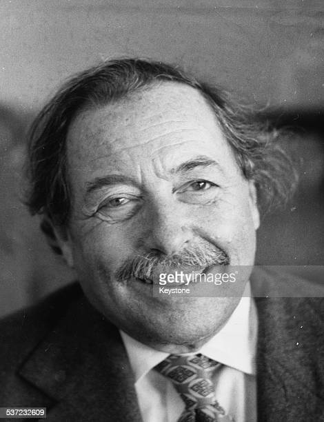 Portrait of American playwright Tennessee Williams April 1977