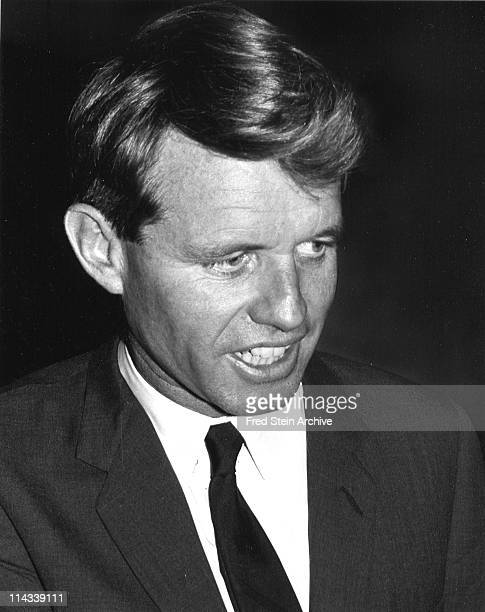 Portrait of American politician and US Attorney General Robert F Kennedy 1965