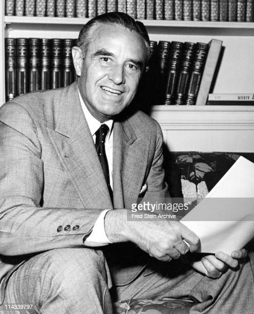 Portrait of American politician diplomat and Governor of New York Averell Harriman 1952