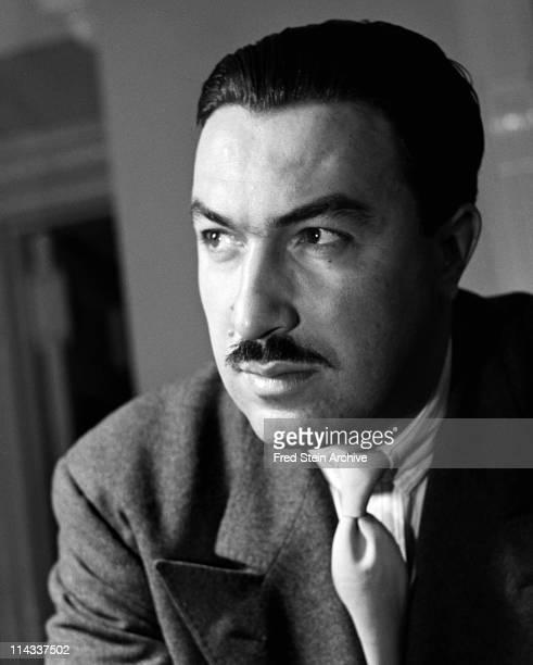 Portrait of American politician religious leader and social activist Adam Clayton Powell Jr 1946