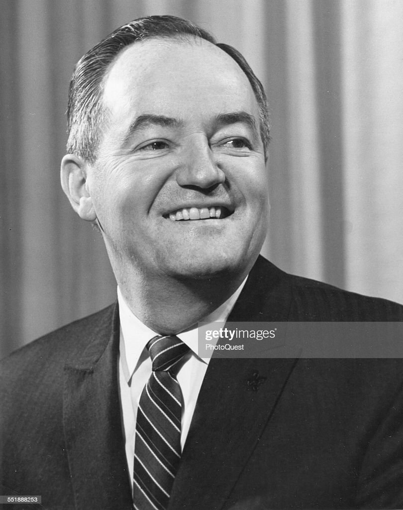 Portrait of American politician US Senator and Democratic Majority Whip <a gi-track='captionPersonalityLinkClicked' href=/galleries/search?phrase=Hubert+Humphrey&family=editorial&specificpeople=91105 ng-click='$event.stopPropagation()'>Hubert Humphrey</a> (1911 - 1978), 1961.