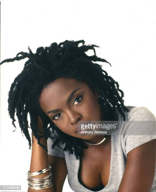 Portrait of American pop and rhythm blues musician Lauryn Hill 1998
