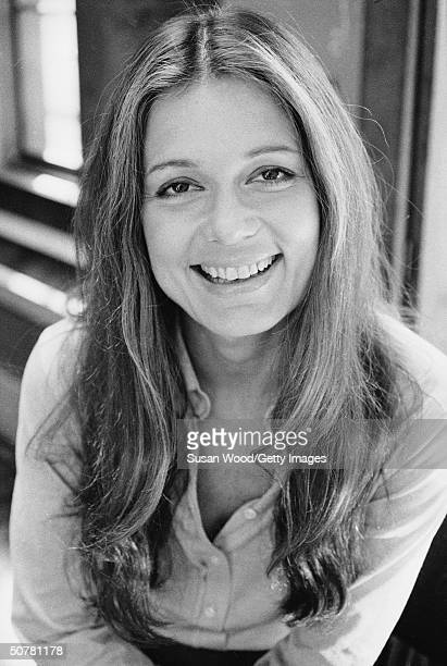 Portrait of American publisher and political activist Gloria Steinem 1970s