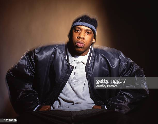 Portrait of American rapper JayZ New York New York 2000
