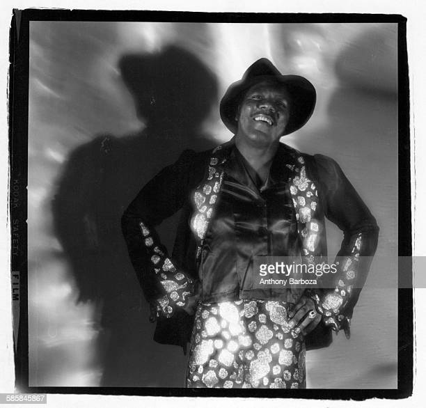 Portrait of American RB and Soul musician Don Covay New York 1970s
