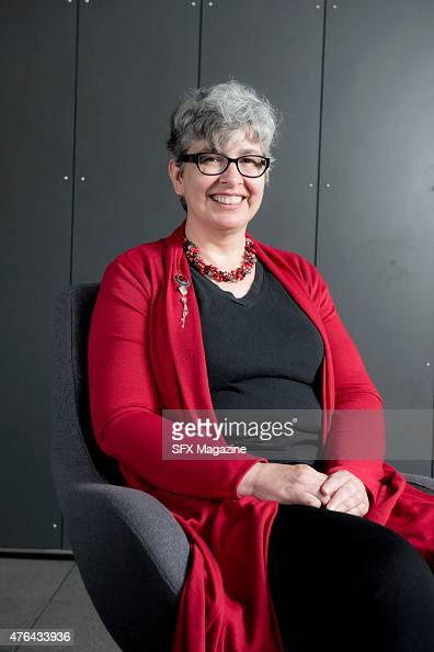 Portrait of American science fiction author Ann Leckie photographed during the 2014 World Science Fiction Convention at the ExCeL Exhibition Centre...