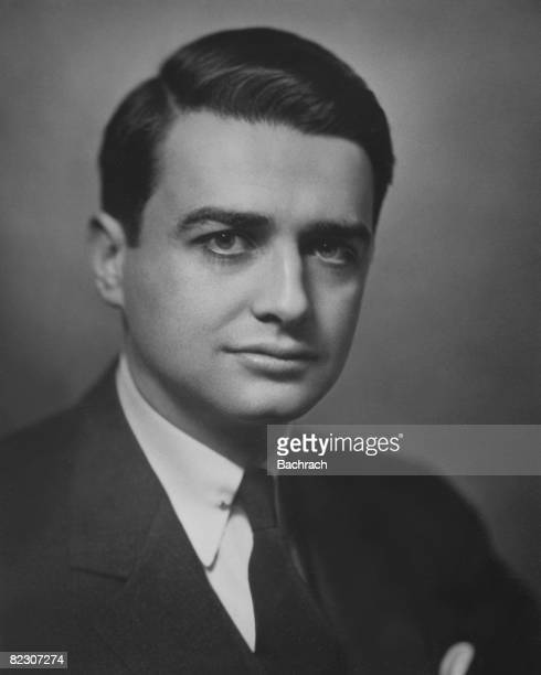 Portrait of American scientist and inventor Edwin Herbert Land one of the founders of the Polaroid Corporation Boston Massachussetts 1940