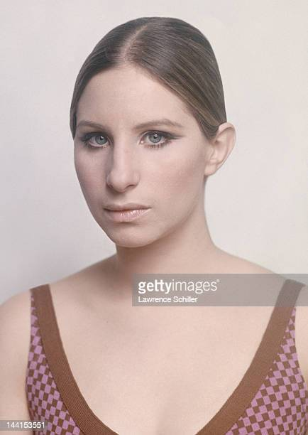 Portrait of American singer and actress Barbra Streisand in the Plaza Hotel New York New York 1969 The photo originally appeared in Life magazine