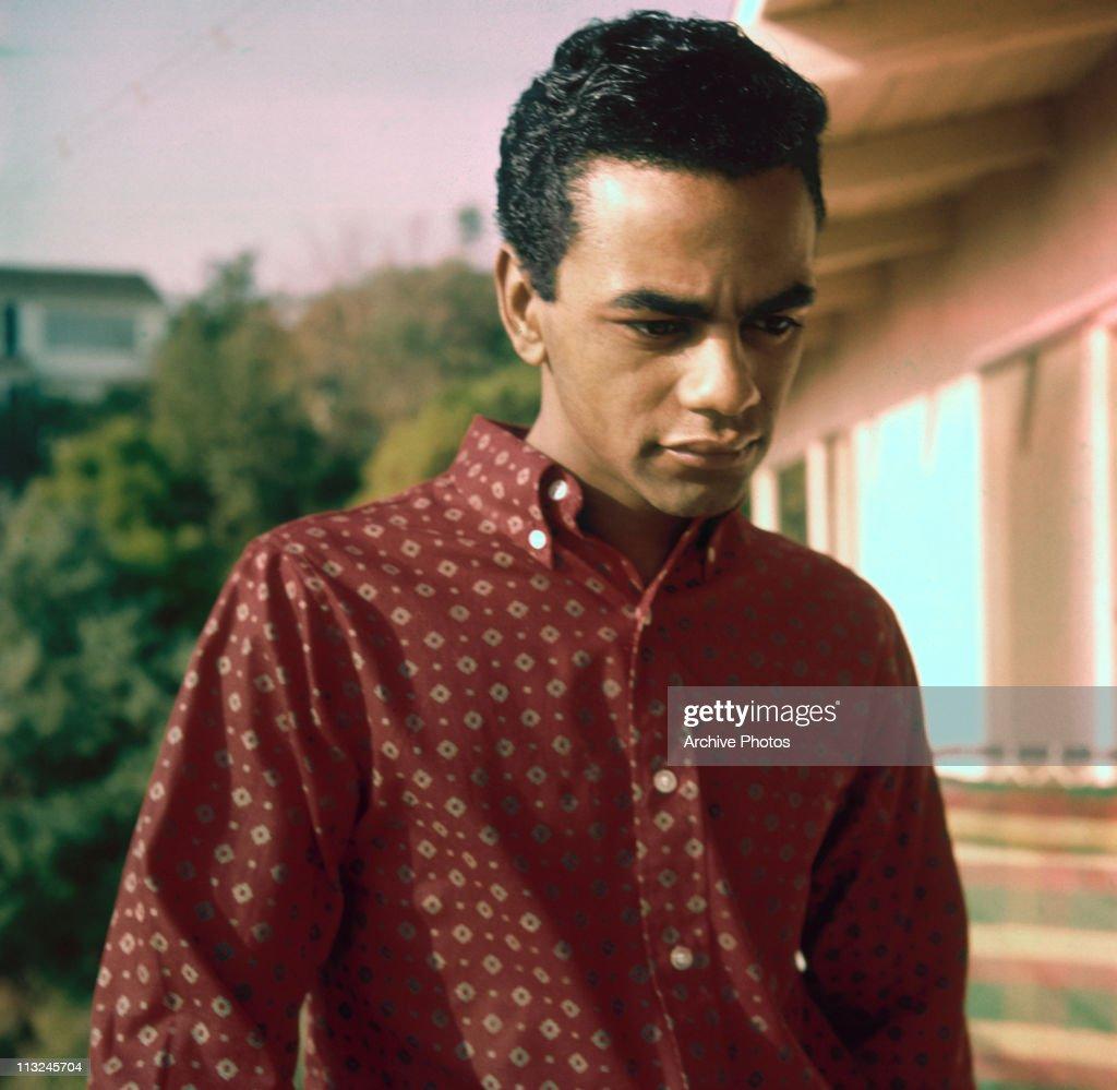 Portrait of American singer Johnny Mathis circa 1958