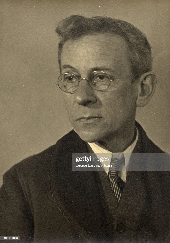 Portrait of American sociologist and photographer Lewis Hine (1874 - 1940) circa 1930.