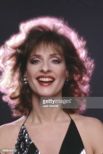 Portrait of American stage and screen actress and singer Patti LuPone 1987
