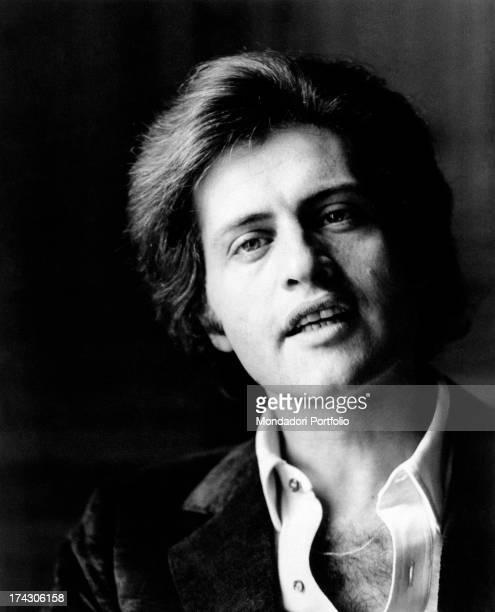Portrait of Americanborn French singer Joe Dassin Paris 1970s