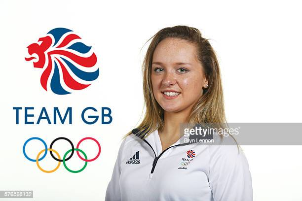 A portrait of Amy Tinkler a member of the Great Britain Olympic Gymnast team during the Team GB Kitting Out ahead of Rio 2016 Olympic Games on July...