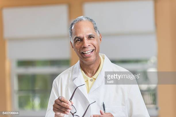 Portrait of an African American doctor