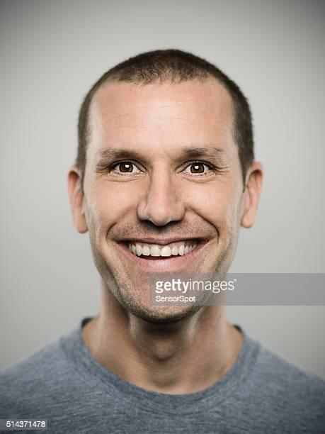Retrato de un auténtico hombre americano.