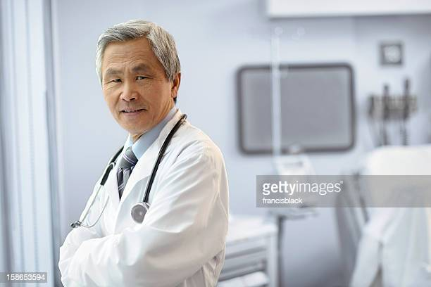 Portrait of an Asian Male Doctor