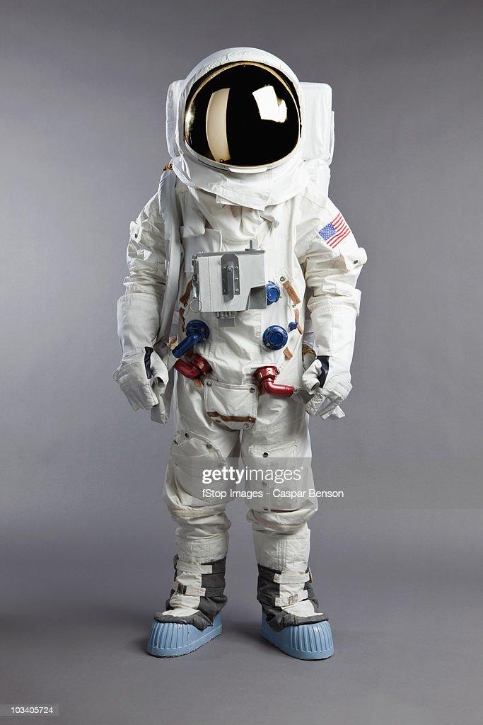 A portrait of an astronaut, studio shot
