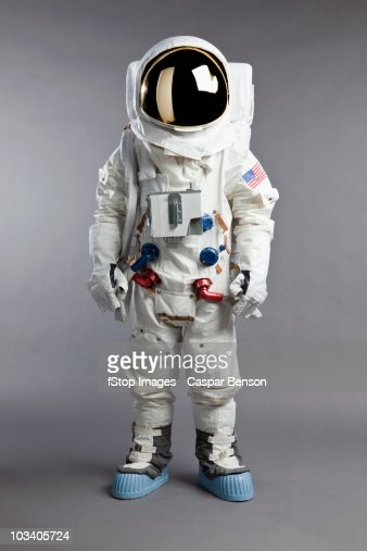 A portrait of an astronaut, studio shot