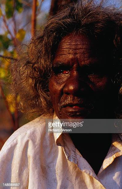 Portrait of an elder at the outstation of Kudjekbinj in West Arnhem Land.