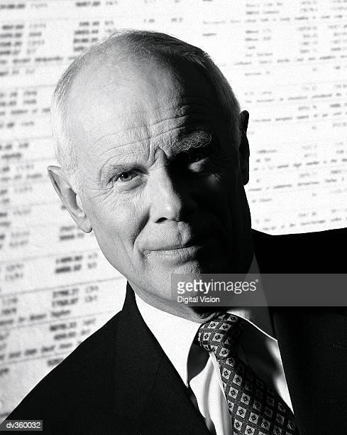 Portrait of an elderly businessman