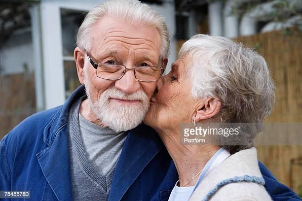 Portrait of an elderly Scandinavian couple Sweden.