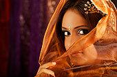 portrait of an indian beauty