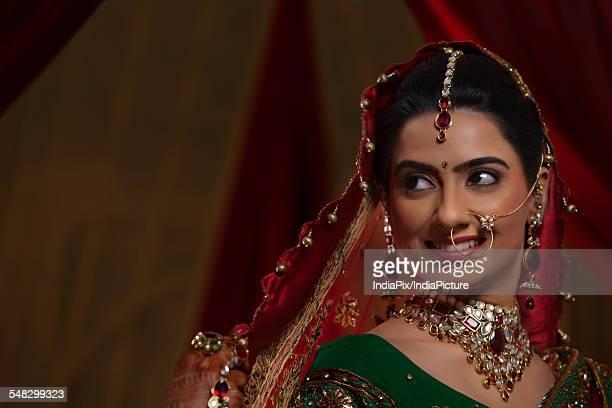 Portrait of an Indian bride