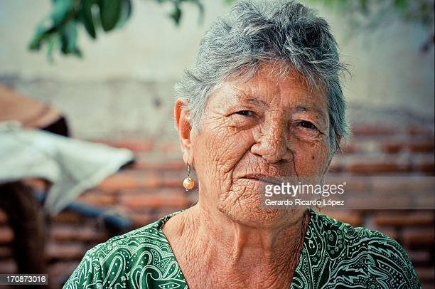 Portrait of an old woman