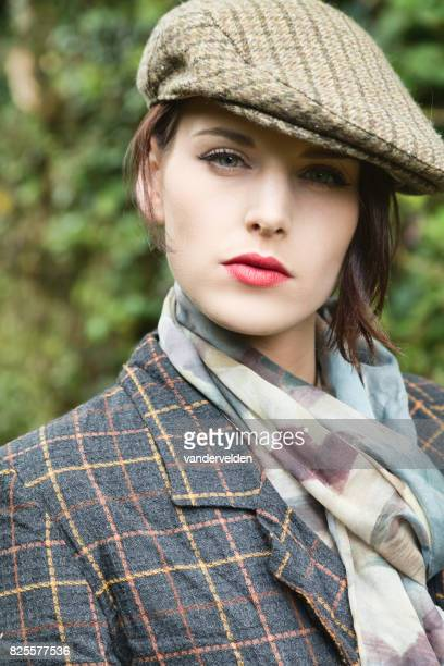 Portrait of an upper class English lady