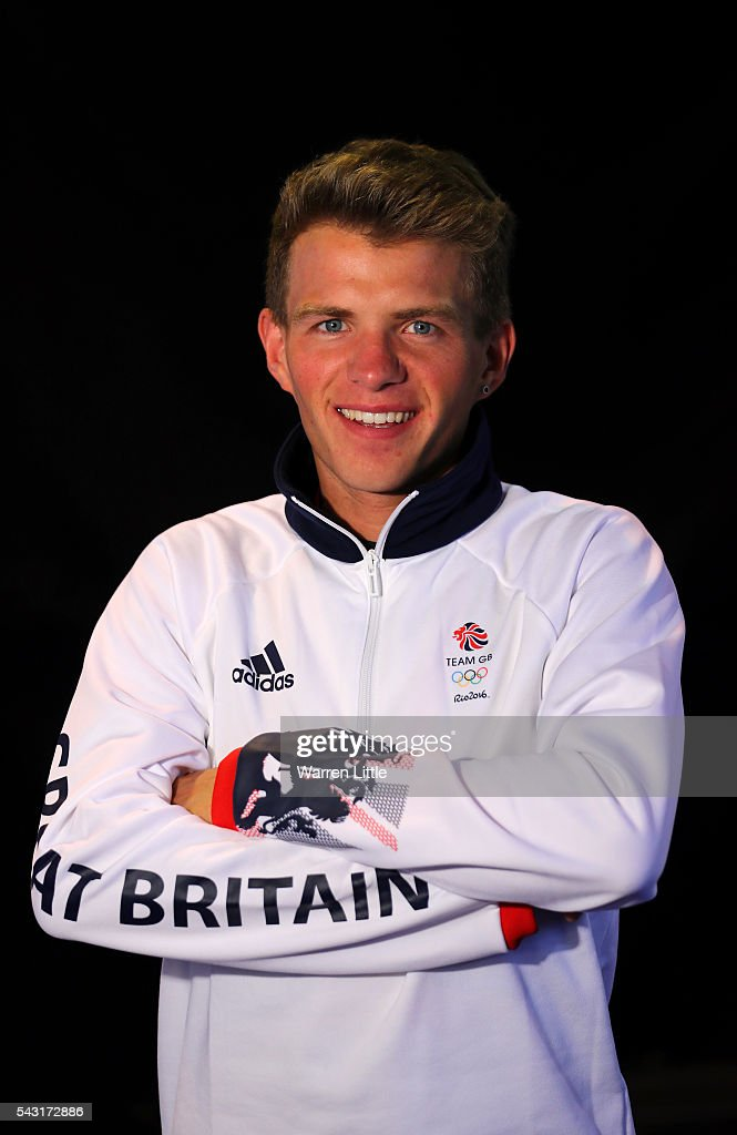 A portrait of Andrew Butchart a member of the Great Britain Olympic team during the Team GB Kitting Out ahead of Rio 2016 Olympic Games on June 26, 2016 in Birmingham, England.