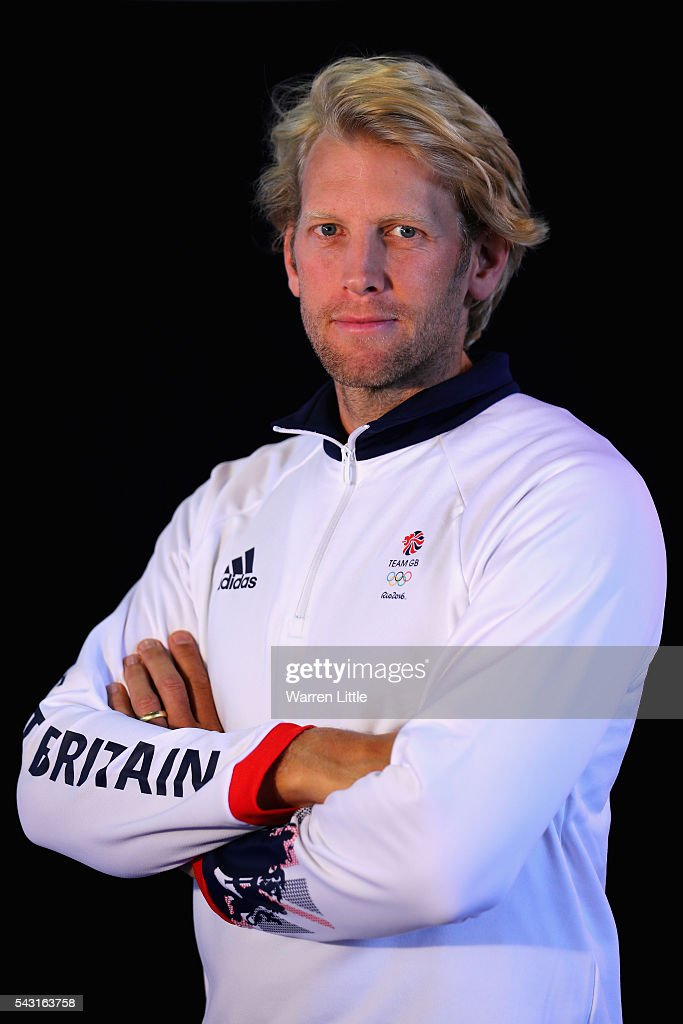 A portrait of Andrew Hodge a member of the Great Britain Olympic team during the Team GB Kitting Out ahead of Rio 2016 Olympic Games on June 26, 2016 in Birmingham, England.