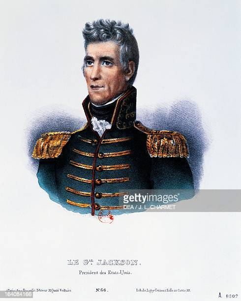 Andrew Jacksons Kitchen Cabinet: Andrew Jackson Us President Stock Photos And Pictures