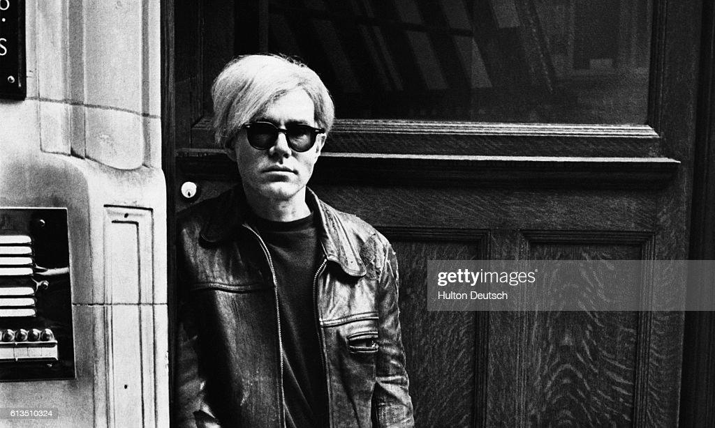 Portrait of Andy Warhol
