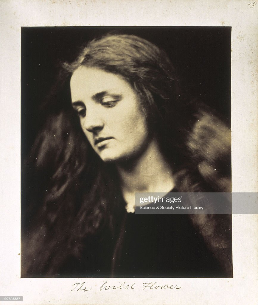 Portrait of Annie Chinery by Julia Margaret Cameron At the age of 18 Annie Chinery married Cameron's son Ewen Cameron's photographic portraits are...