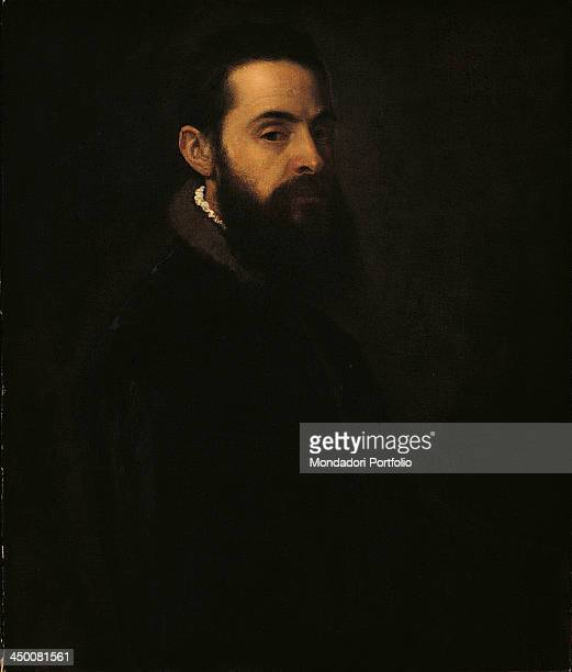 Portrait of Antonio Anselmi by Tiziano Vecellio known as Tiziano 16th Century oil on canvas 76 x 64 cm