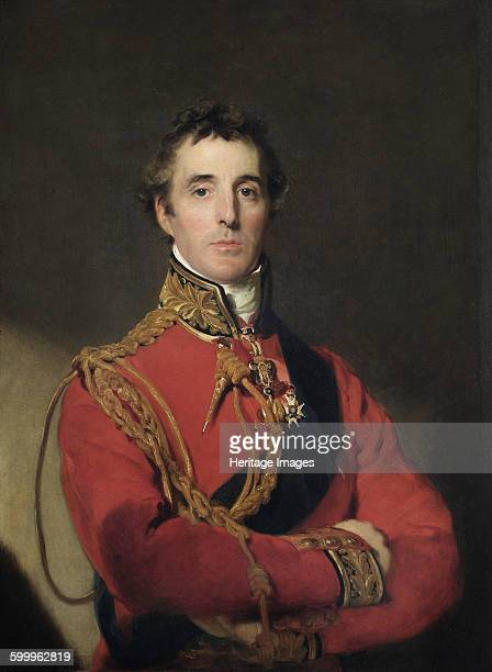 Portrait of Arthur Wellesley 1st Duke of Wellington 18151816 Found in the collection of Apsley House London Artist Lawrence Sir Thomas