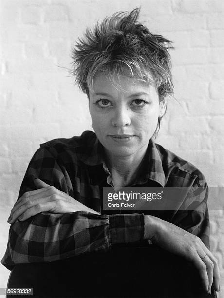Portrait of artist and musician Laurie Anderson New York New York 1985