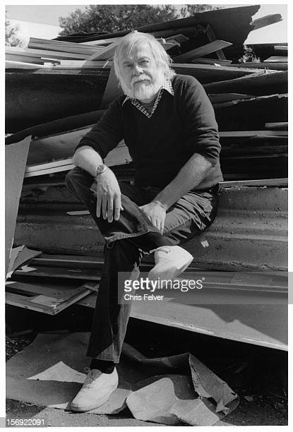 Portrait of artist John Baldessari Valencia California 1986