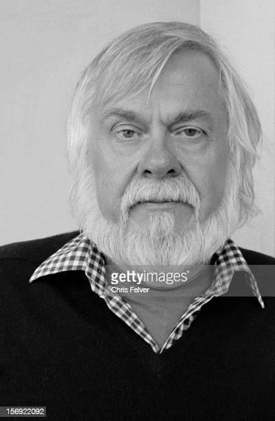 Portrait of artist John Baldessari Valencia California 1986