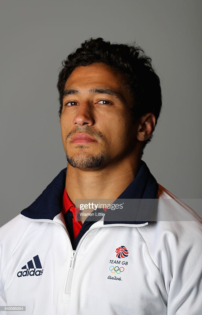 A portrait of <a gi-track='captionPersonalityLinkClicked' href=/galleries/search?phrase=Ashley+McKenzie+-+Judoka&family=editorial&specificpeople=13416903 ng-click='$event.stopPropagation()'>Ashley McKenzie</a> a member of the Great Britain Olympic team during the Team GB Kitting Out ahead of Rio 2016 Olympic Games on June 28, 2016 in Birmingham, England.