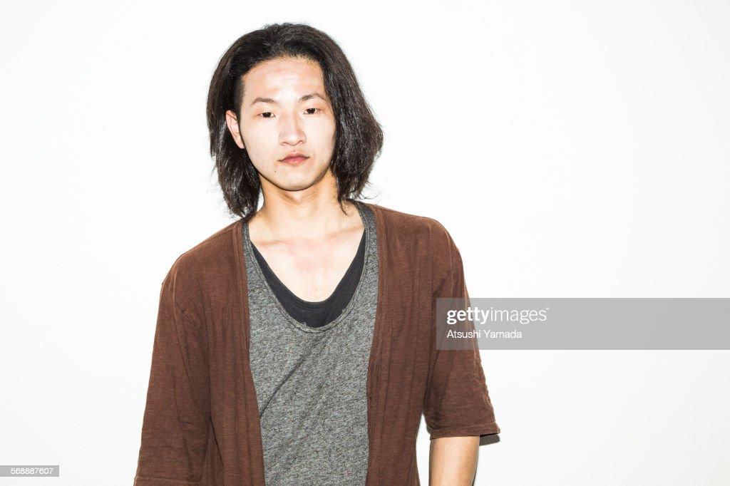Portrait of Asian man : Stock Photo