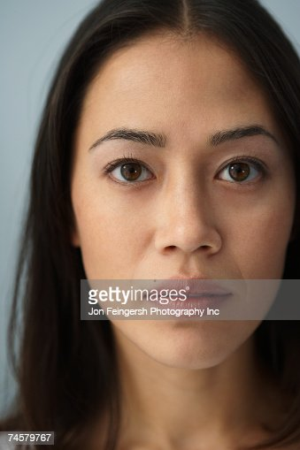Portrait of Asian woman : Stock Photo